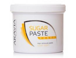 ARAVIA Professional Сахарная паста для депиляции Медовая очень мягкой консистенции 750гр.