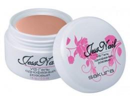 "Камуфлирующий розовый гель (Sakura) ""Jess Nail"" - 15 мл. (02691)"