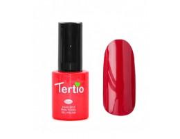 Tertio - Тертио гель лак 007 (Темно-вишневый, без блесток и перламутра, плотный)