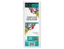 Полоски для депиляции 20 шт JessNail 20х7 см