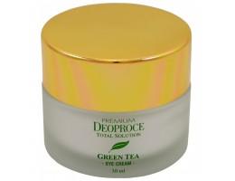 Deoproce GREEN TEA Крем для век увлажняющий с экстрактом зеленого чая PREMIUM DEOPROCE GREENTEA TOTAL SOLUTION EYE CREAM 30ml