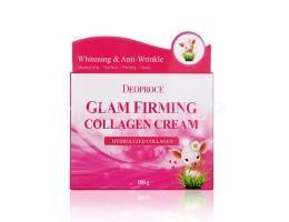 Deoproce Moisture Glam Firming Collagen Cream - Крем для лица подтягивающий с коллагеном, 100 г