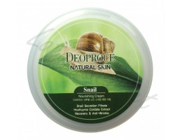Крем с улиточным муцином Deoproce Natural Skin Snail Nourishing Cream
