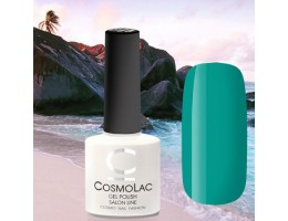 Cosmolac, гель-лак «Карибский зеленый» №078