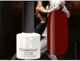 Гель-лак CosmoLac Тонкая грань 126 темно-бордовый  7.5мл