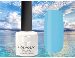 Гель-лак CosmoLac Небесная лазурь, 161 ярко-голубой