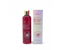 Тонер для лица антивозрастной с экстрактом граната Deoproce Whitening and Anti-Wrinkle Pomegranate Skin