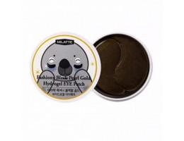 Гидрогелевые патчи для глаз Milatte Fashiony Black Pearl Gold Hydrogel Eye Patch с экстрактом черного жемчуга, 60 шт