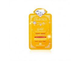 Гидрогелевая маска  для лица с 24-каратным коллоидным золотом Dia Force 28гр