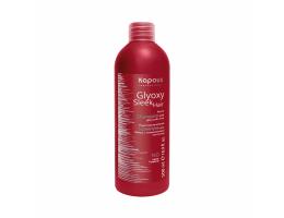 Kapous  (Италия) Шампунь разглаживающий с глиоксиловой кислотой серии GlyoxySleek Hair Kapous, 500 мл
