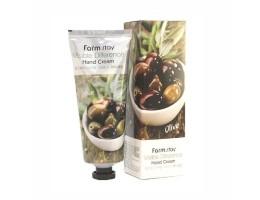 Крем для рук с экстрактом оливы Farm Stay Olive (Фарм Стей) 100мл