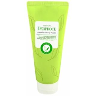 Пилинг- скатка на основе зеленого чая Deoproce Premium Green Tea Peeling Vegetal