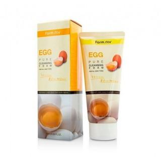 FarmStay Пенка очищающая с яичным экстрактом, 180 мл