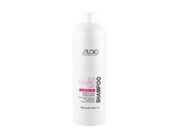 Kapous Professional Шампунь для окрашенных волос с рисовыми протеинами и экстрактом женьшеня, 1000 мл