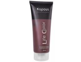 Kapous Бальзам оттеночный для волос Life Color Гранатовый красный 200 мл