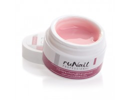 ruNail, УФ-гель камуфлирующий (Розовая карамель, Candy Rose), 15 г