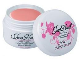 "Камуфлирующий натурально-розовый гель (Pink Natural) ""Jess Nail"" - 15 мл. (02693)"
