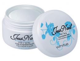 ".Ярко-белый гель (White) ""Jess Nail"" - 15 мл. (0994)"
