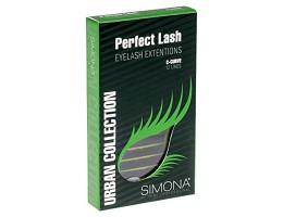 Ресницы д/поресничного наращивания на ленте «Simona» Perfect Lash, 12 линий, Ø0,20, С-изгиб | IRISK PROFESSIONAL