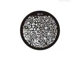 El Corazon, диск для стемпинга Kst-14 Kaleidoscope (Германия)